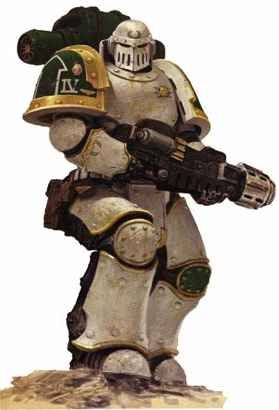Pre-heresy Death Guard Legionary during the Great Crusade