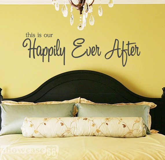 This is our Happily Ever After Vinyl Wall Art by showcase66. www ...