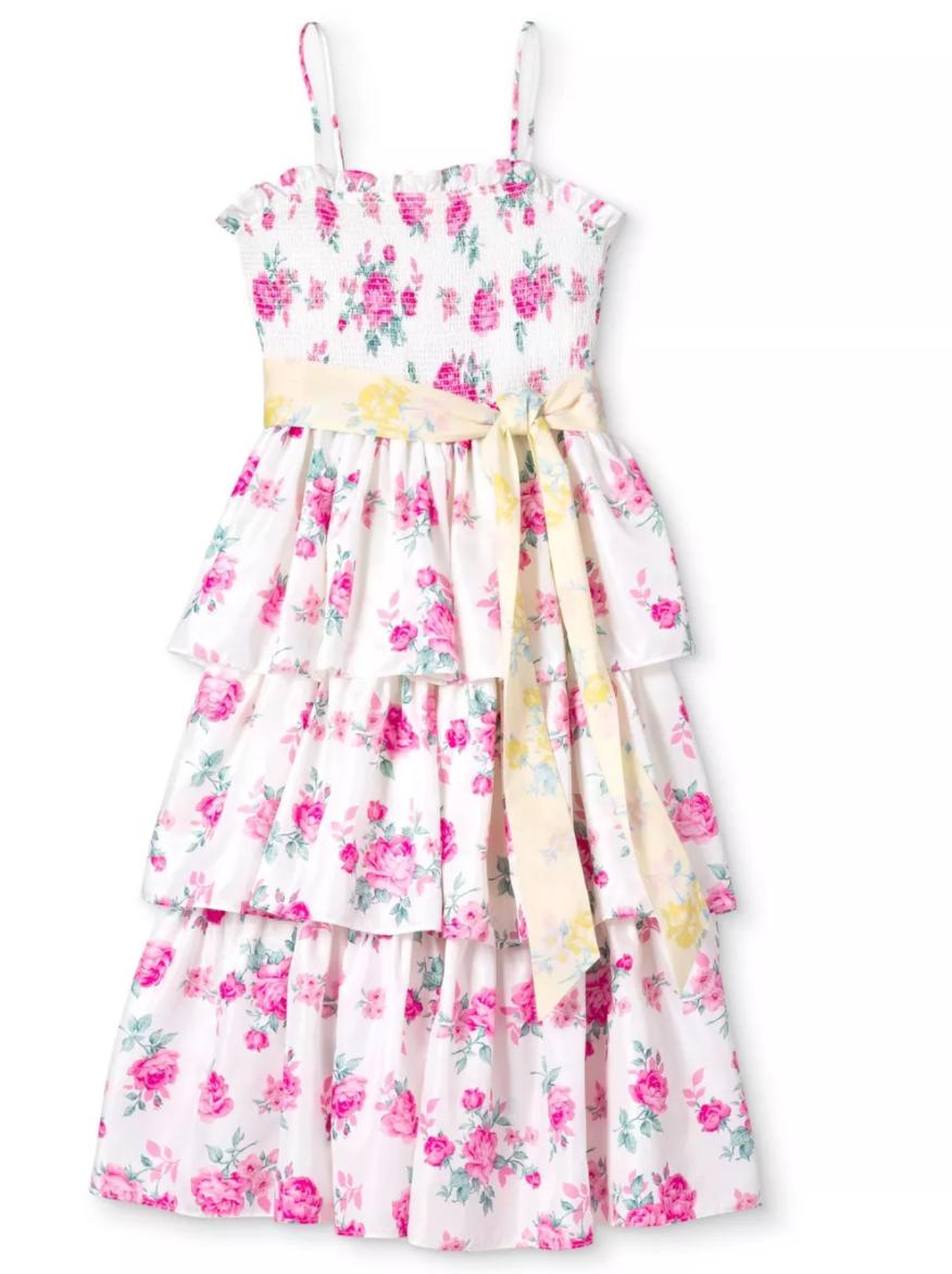 Loveshackfancy X Target Animal Print Cocktail Dresses Tiered Dress Dresses [ 1172 x 876 Pixel ]