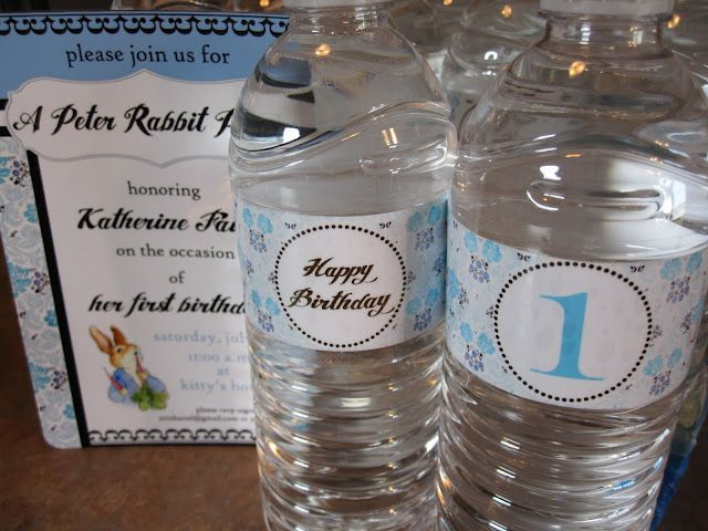 CLICK HERE To Download My Free Personalized Water Bottle Label - Free personalized water bottle labels template
