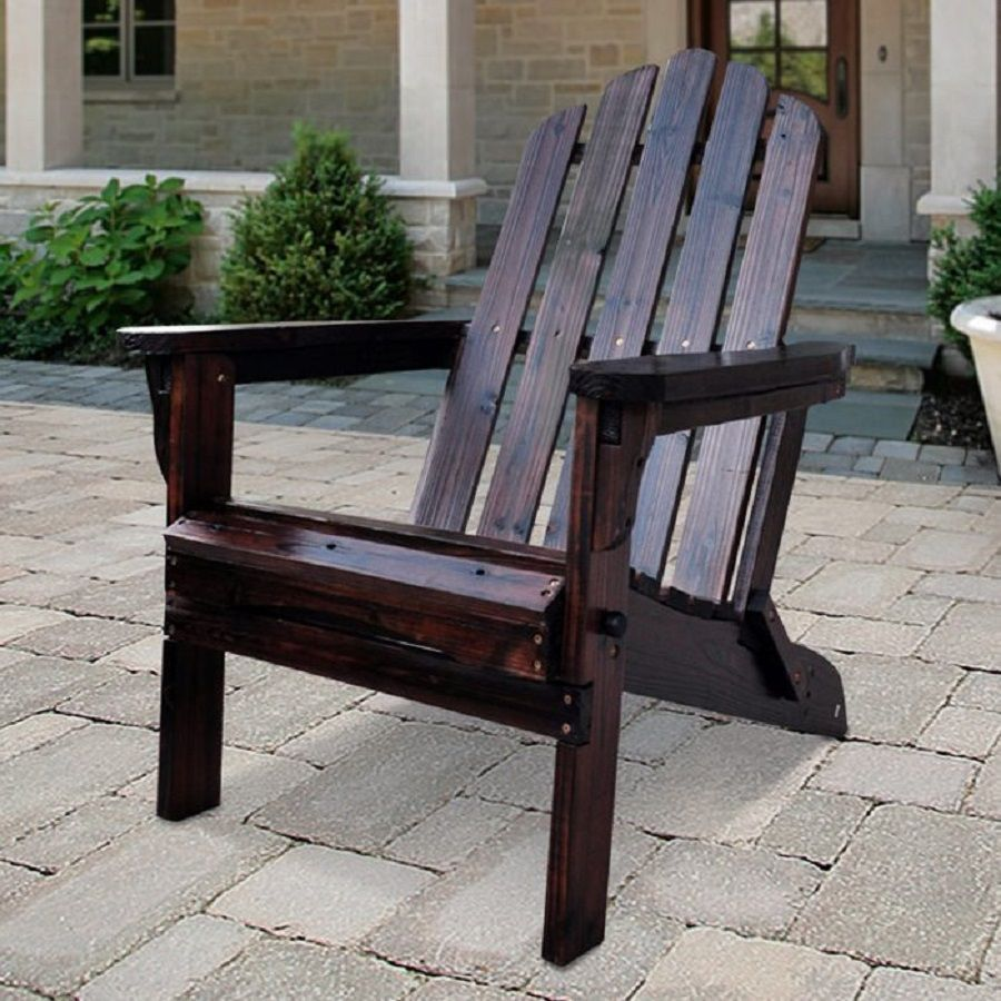 Shop Shine Company Marina Burnt Brown Cedar Folding Patio