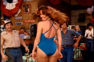 Catherine bach wearing pantyhose think