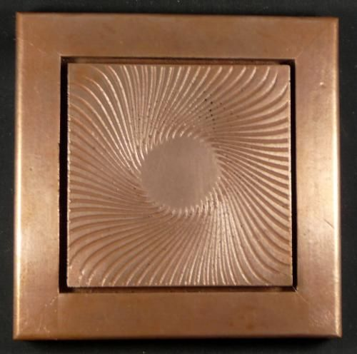 Resin Wall Art vortex copper wall art combines copper and resin to create modern