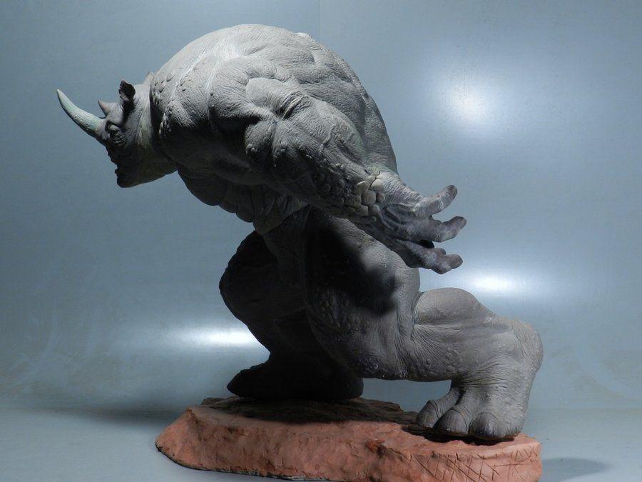 Rhino Sculpture 11 by loqura.deviantart.com on @deviantART
