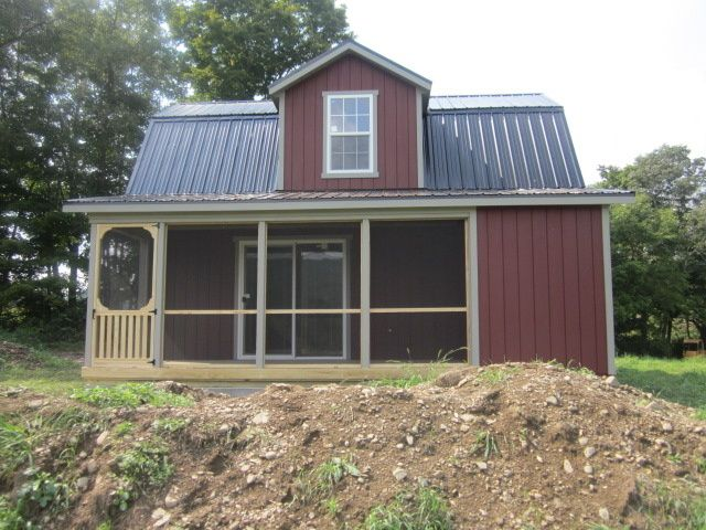 Cobleskill ny amish built storage sheds cabins amish for Dutch barn shed plans