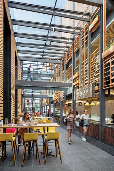 Duke University S West Campus Union By Grimshaw West Campus Campus Design Atrium