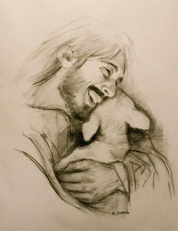 Jesus lacht - #holding #Jesus #lacht