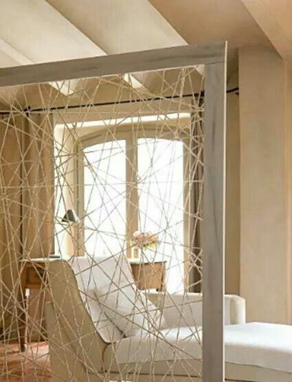 Una Linda Idea Para Separar Espacios Diy Room Divider Living