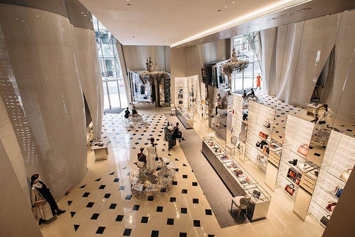 Une nouvelle boutique Dior à Séoul   Pinterest   Le sud et Architecture eeb6de893ad