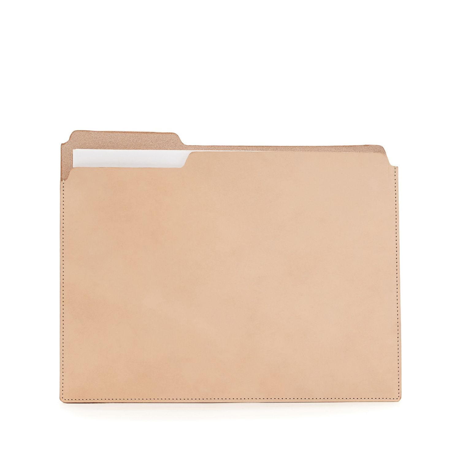 The Classic Manila File Folder Reinvented In Smooth Sturdy Leather Perfect For Transporting Importa Manila Folder Leather Travel Tag Vintage Office Supplies