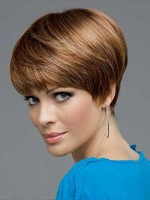 Lace Front Straight Synthetic Comfortable Short Wigs, Short Hair Extentions