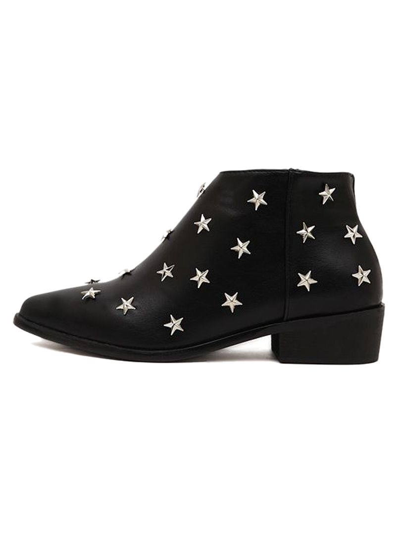 Super Super Cute! Very Unique! Love these Ankle Boots! Black ...