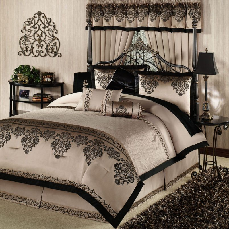 Bedroom Comforter Sets For Queen With Designer Bedding Collections