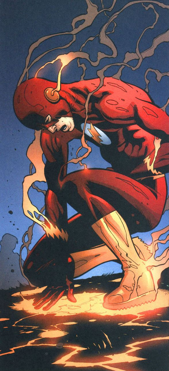 DC Comics The Flash by Doug Mahnke. For similar content follow me @jpsunshine10041