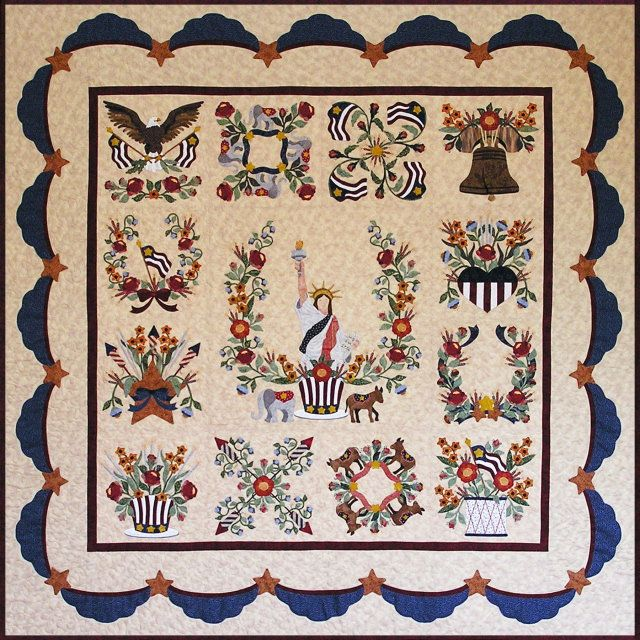 Nice block of the month.  What a great way to get one of these done and it is all setup easy to get started with fabric and everything.