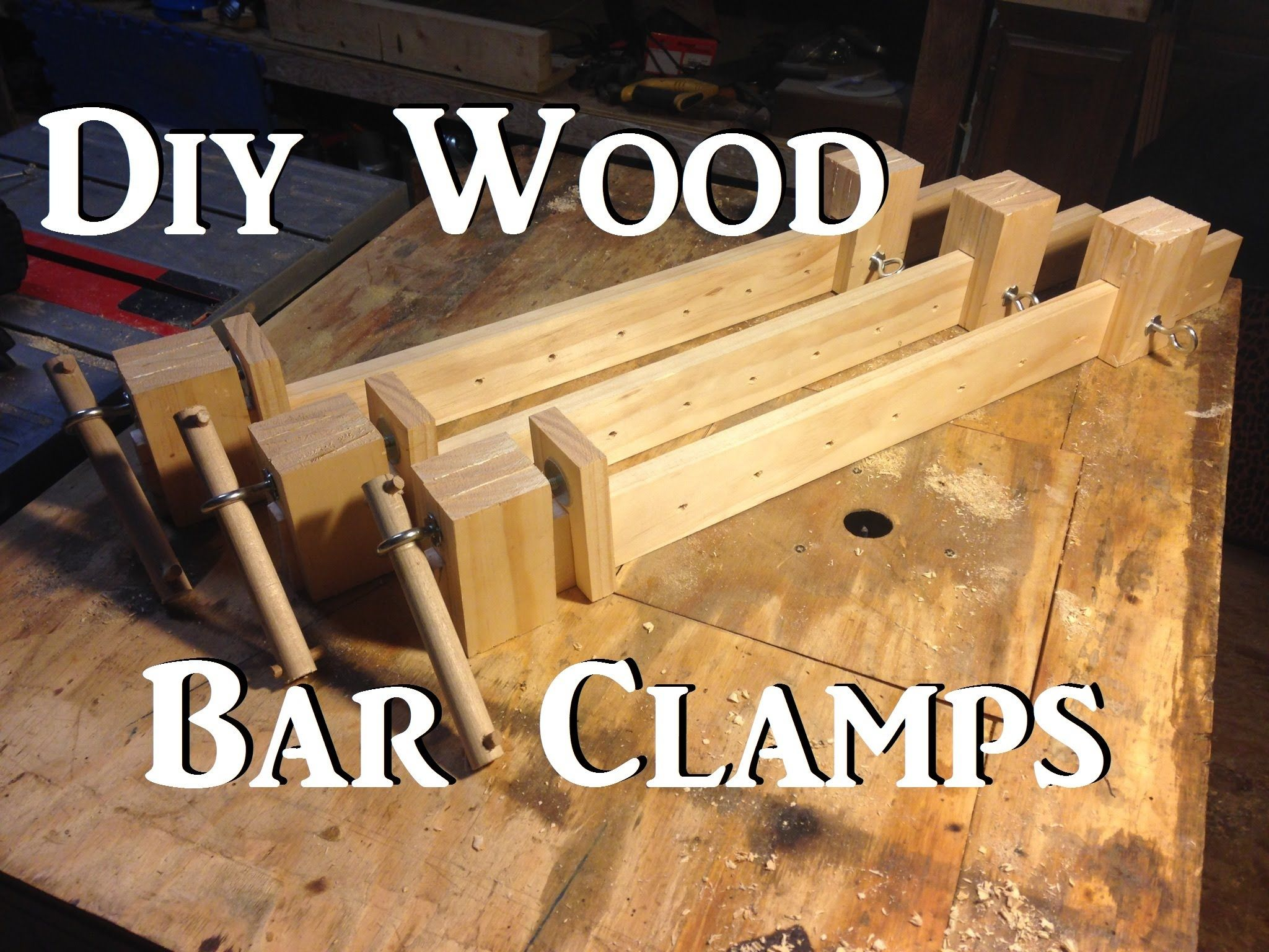 Needed a few bar clamps for an upcoming build i\'m working on. My ...