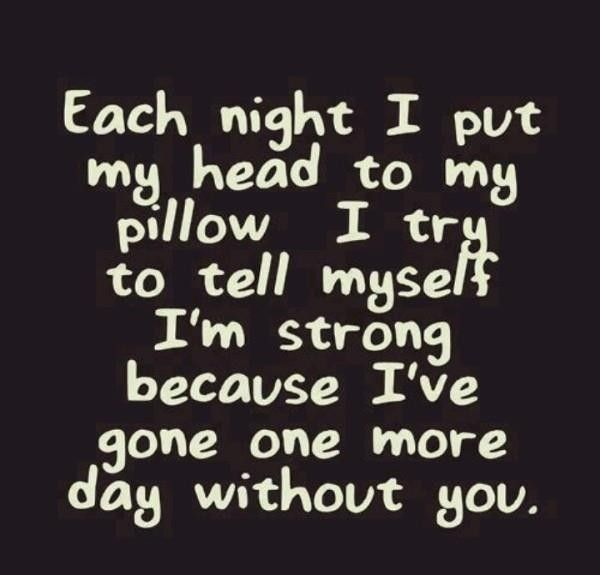Broken Love Quotes | Each day, To tell and Heart quotes
