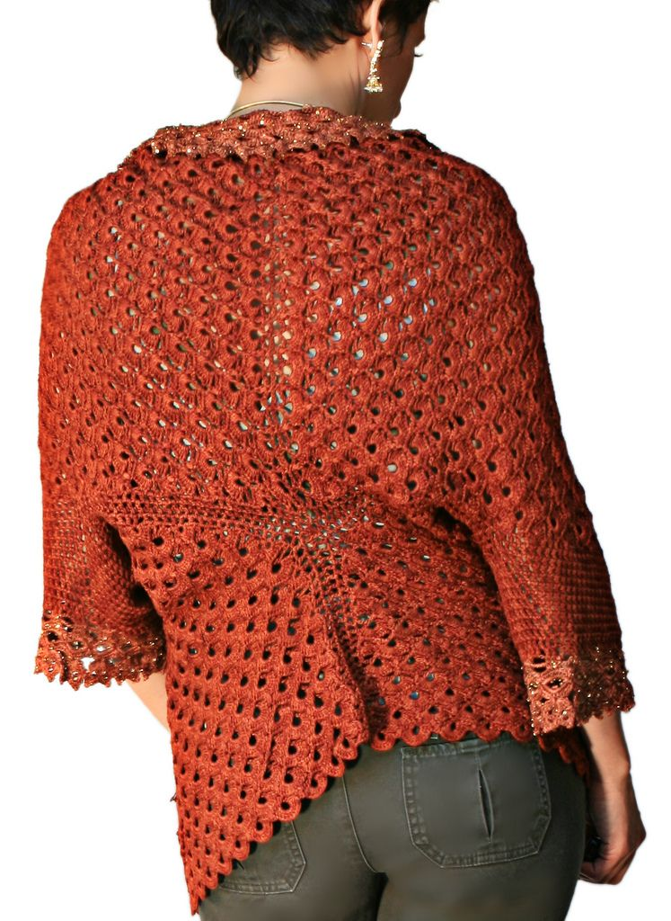 Ravelry: Endless Crochet Cardi Shawl by Jennifer Hansen