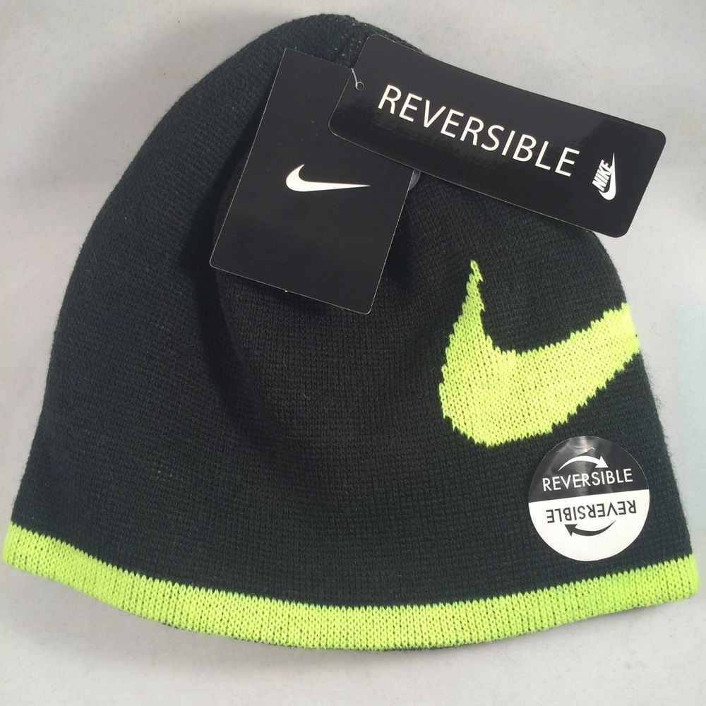27d83852dce Nike Beanie Lid Reversible Boys Kids Youth Cap Hat