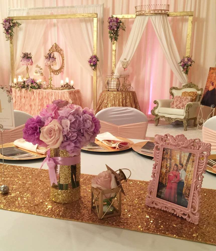 Princess theme baby shower | Royalty baby shower, Baby ...  |Princess Girl Baby Shower Ideas