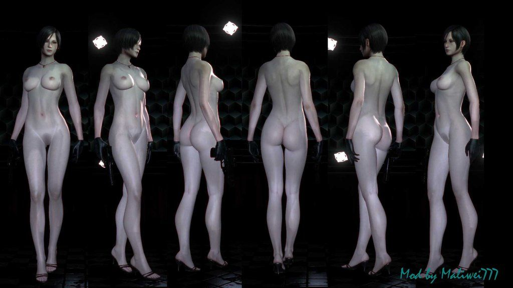 Ada Wong RE6 Nude Mod (Reupload!, Bigger Image!) by