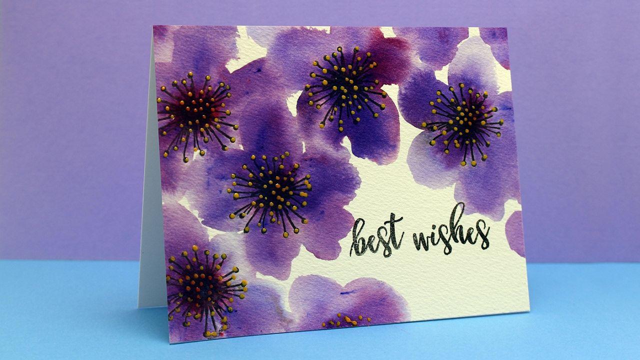 Brusho Flowers - Concord & 9th Pretty Petals
