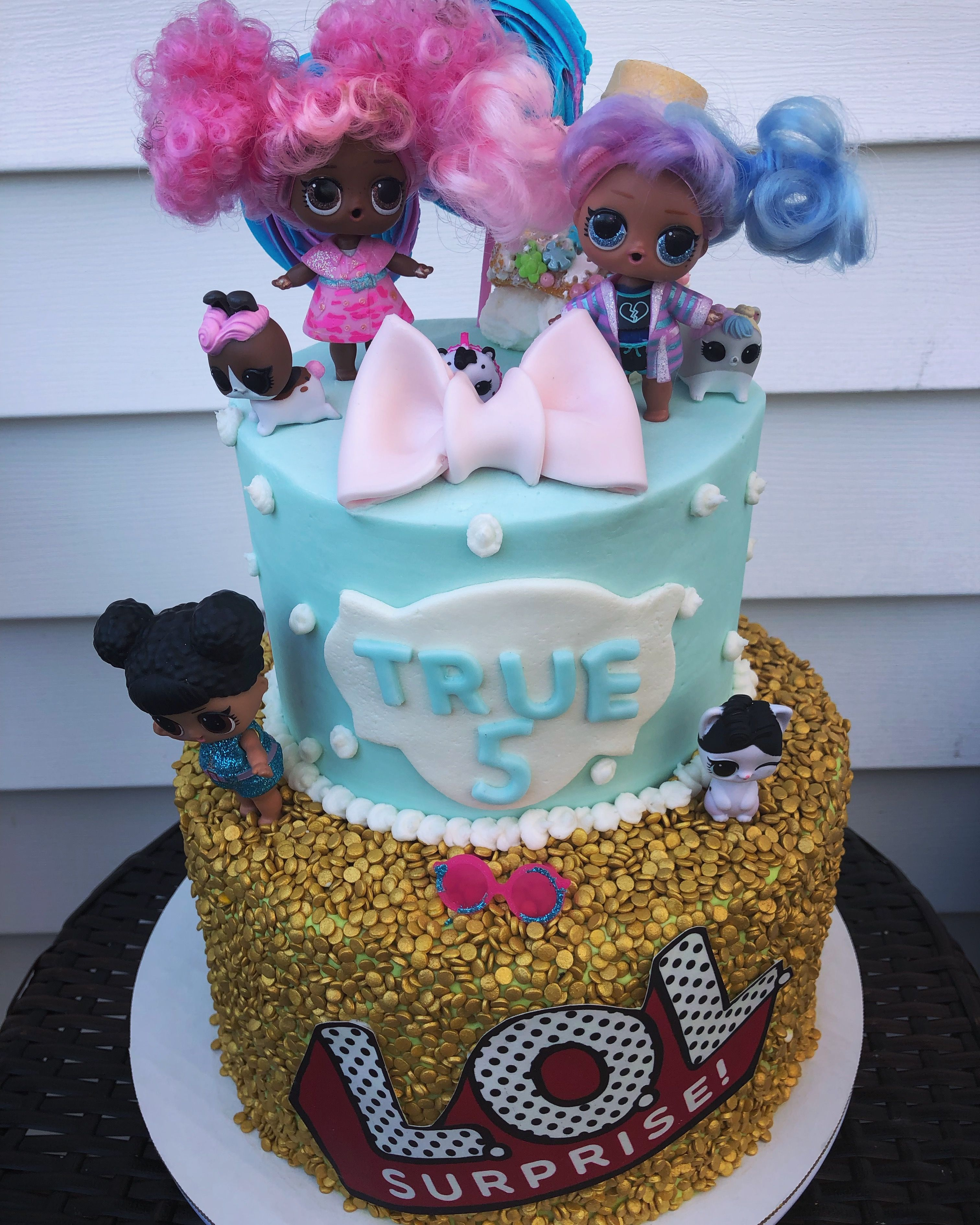 Brilliant Lol Surprise Cake With Images Cake Buttercream Cake Surprise Funny Birthday Cards Online Necthendildamsfinfo