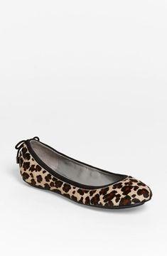leopard flats size 11