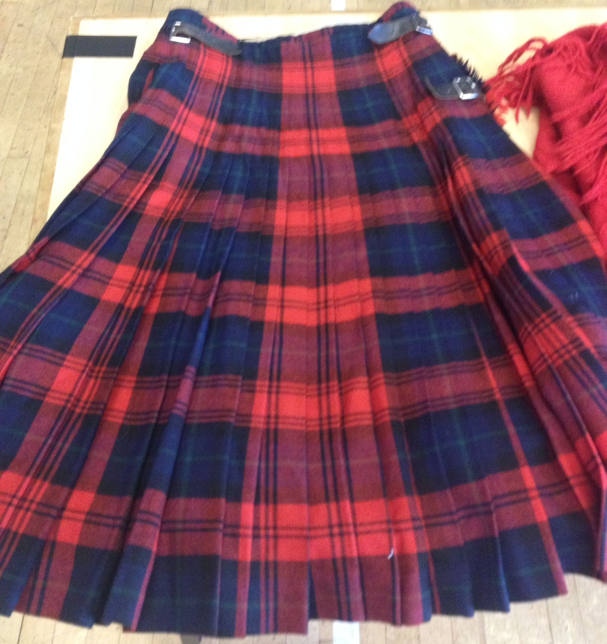 This fabulous kilt was snapped up almost immediately!