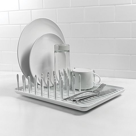 Oxo Good Grips Folding Stainless Steel Dish Rack Fascinating Oxo Good Grips® Dish Rack  Dish Racks And Kitchens Decorating Inspiration