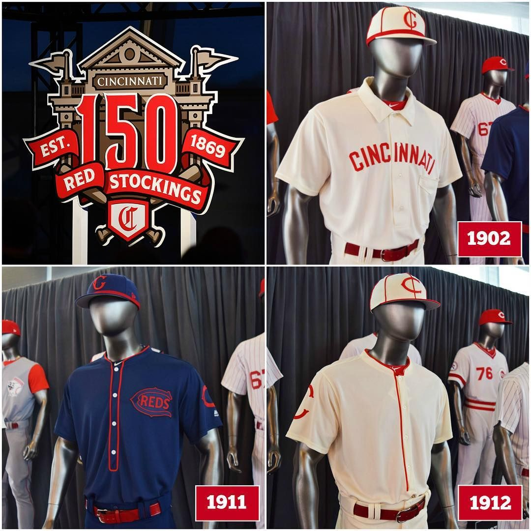"""2fc43b4f0 Cincinnati Reds on Instagram  """"The Reds will wear throwback uniforms during  15 home games this season. Which is your favorite """""""