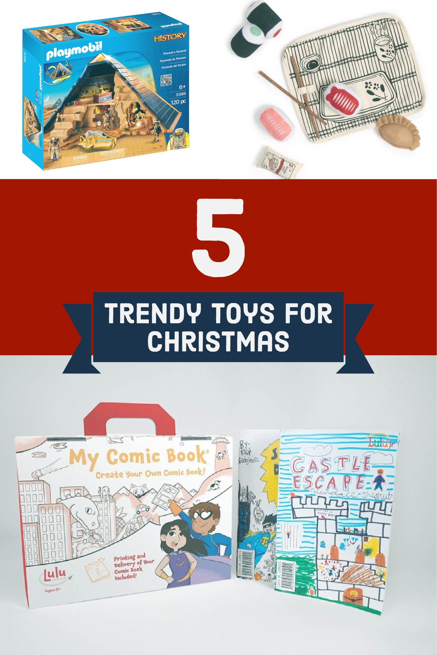 5 Trendy Toys For Christmas