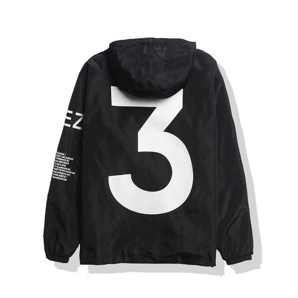 a722662f3 Yeezy Season 3 Jacket - Yeezus Tour Windbreaker in Black
