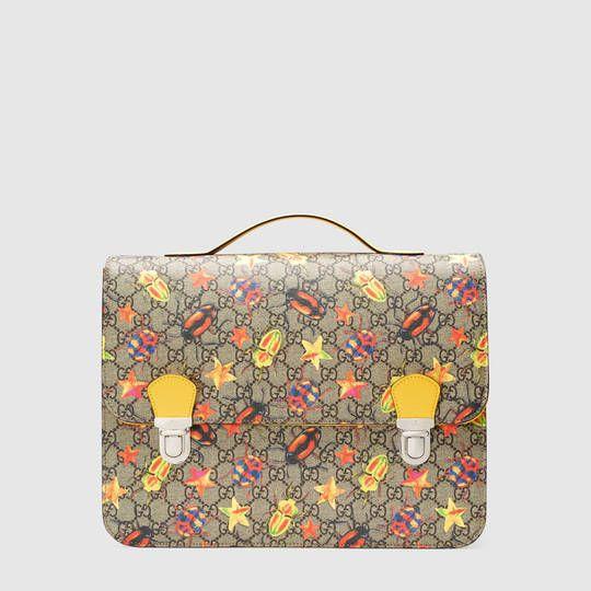 f59879c23a6ac Gucci Children's GG beetles backpack | Kids fashion | Boys backpacks ...