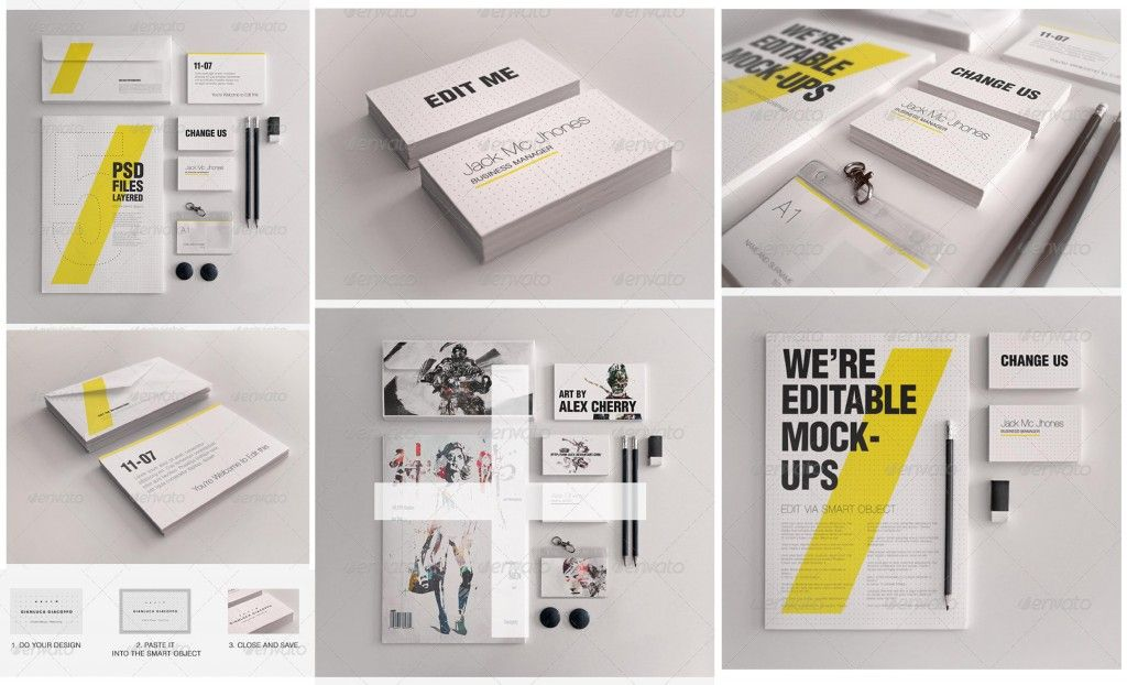 graphicriver corporate identity stationery branding envelopes, Powerpoint templates