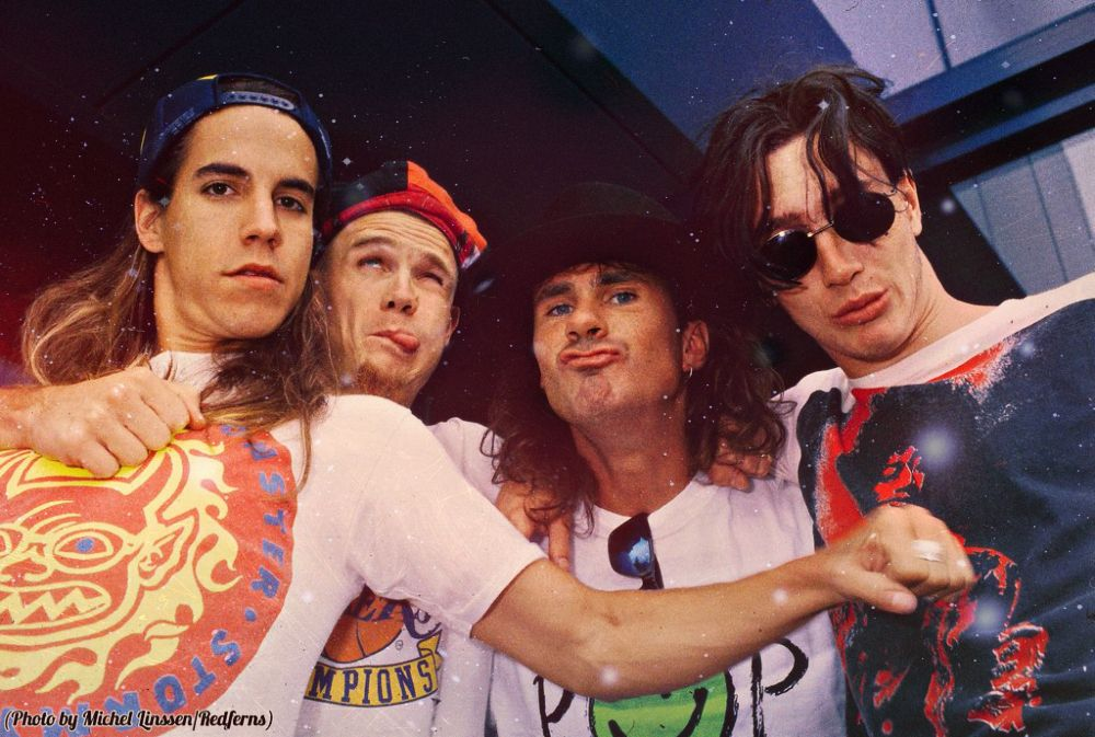 young red hot chili peppers john frusciante anthony kiedis flea chad smith john fru stuffed. Black Bedroom Furniture Sets. Home Design Ideas