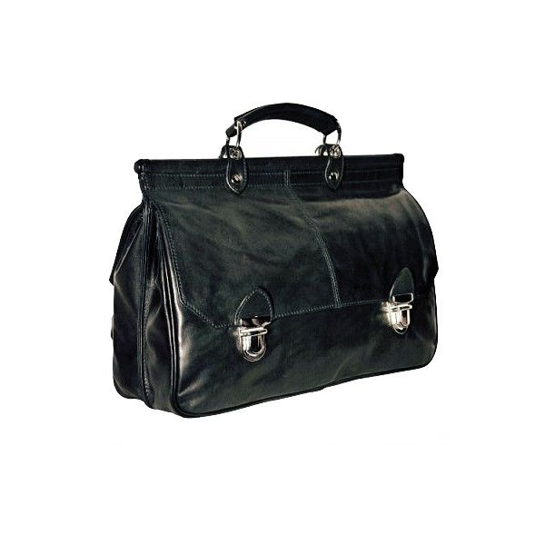 Ann Demeulemeester Jackie Doctors Bag Black Liked On Polyvore Featuring Bags Handbags