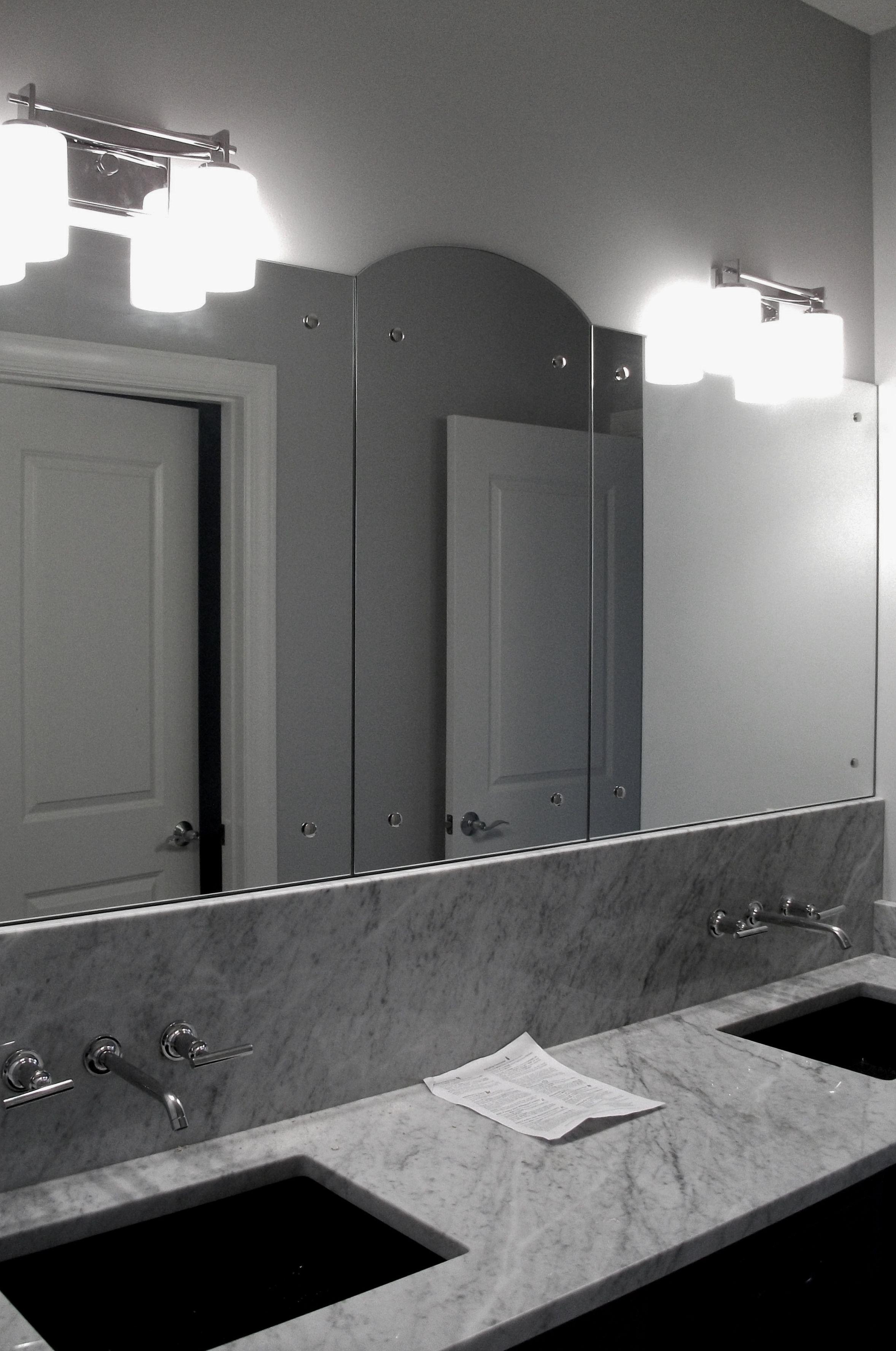 custom bathroom vanity mirrors with modern rosettes on custom bathroom vanity mirrors id=94048