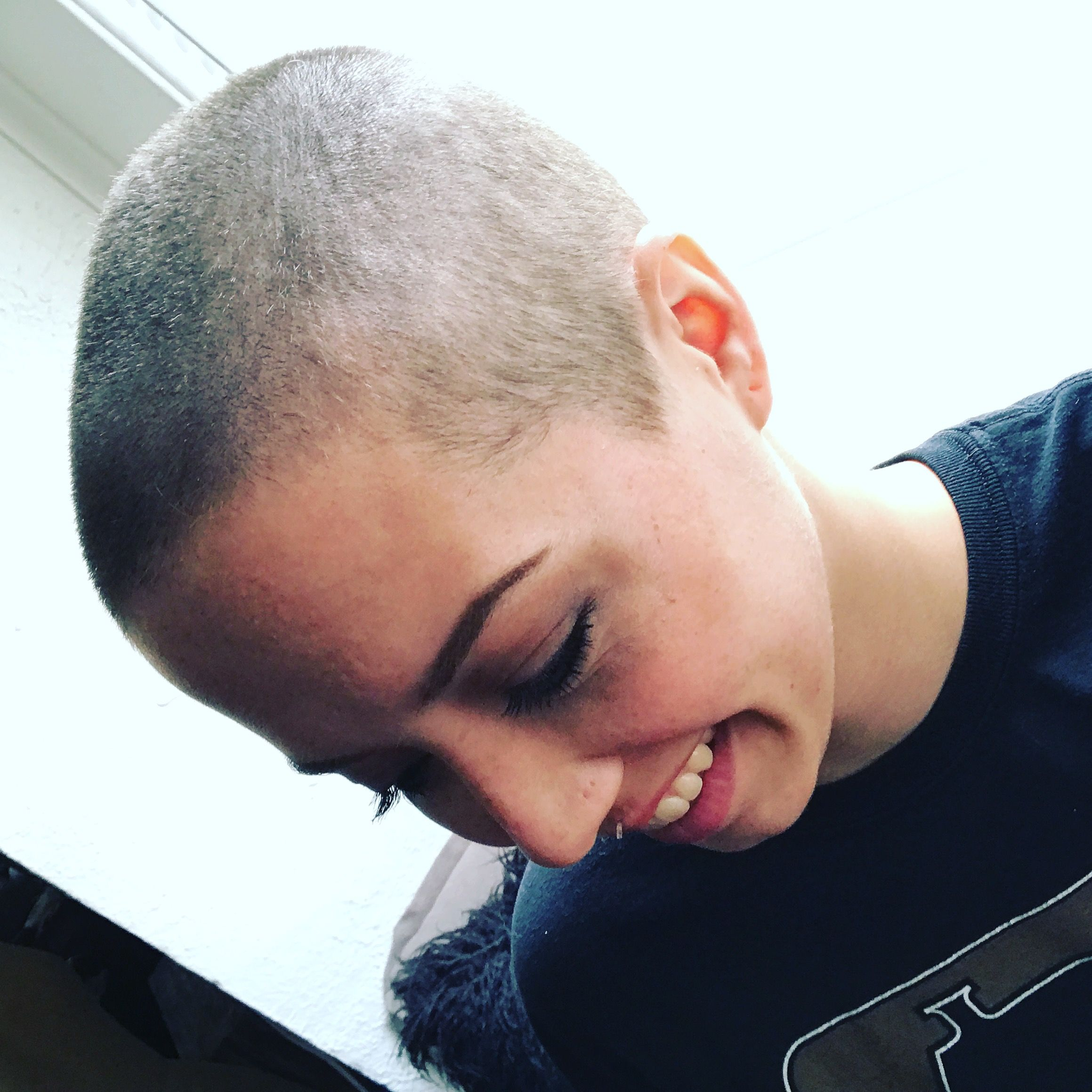 Shaved sides haircut men shaved head  hair  pinterest  shaved head