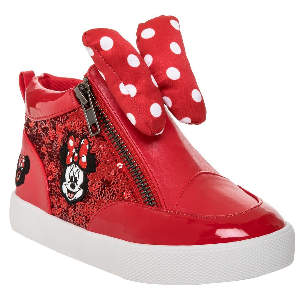 Minnie Mouse Mouseketeer Hi-Top