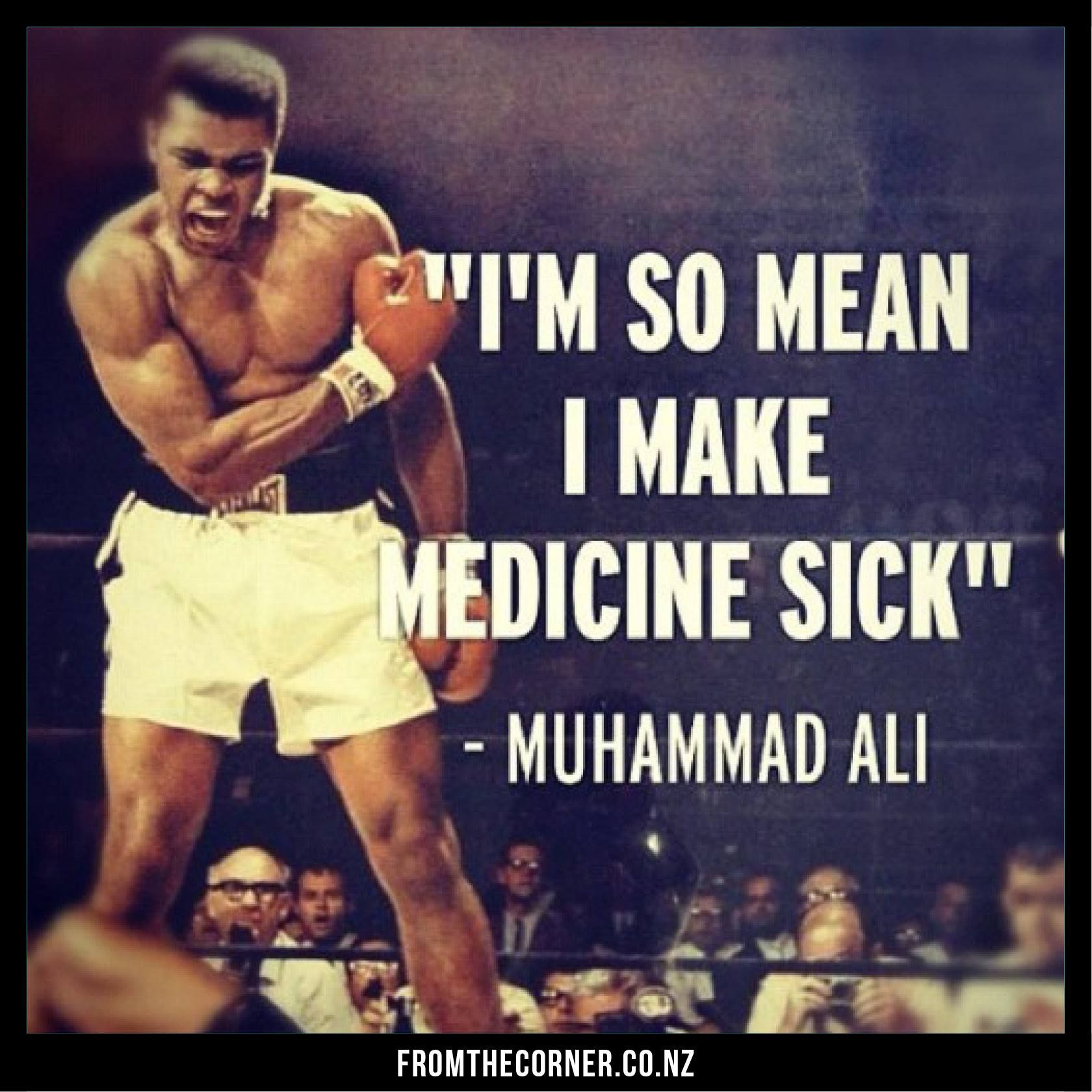 Motivational Quotes For Sports Teams: Muhammad Ali. (Quote From The Boxing Legend)