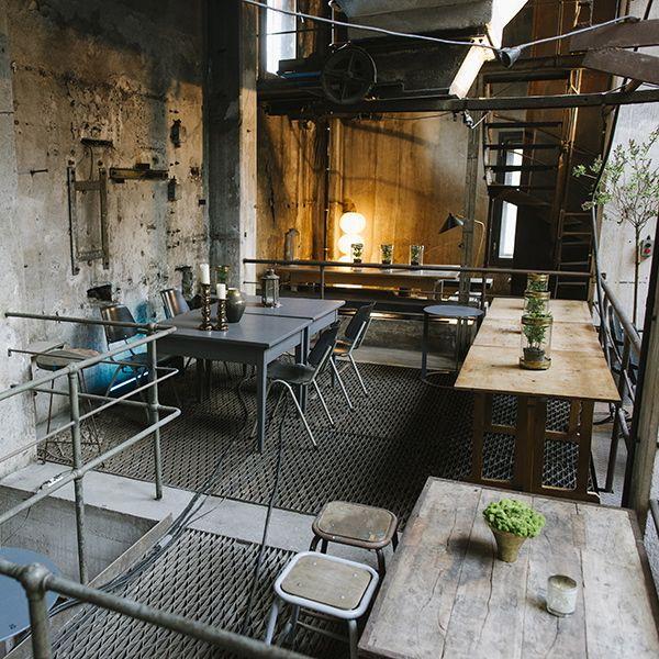Tisch Industrial la soupe populaire berlin berlin industrial interiors and coffe bar