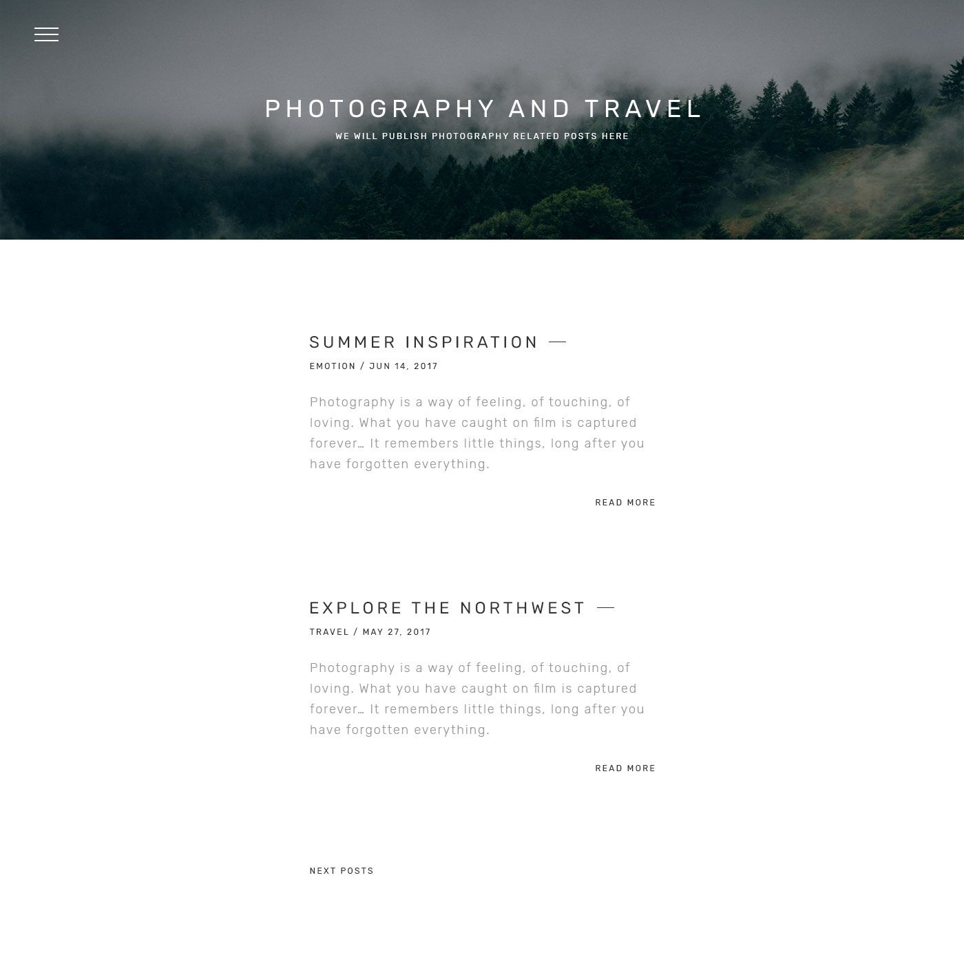 Buddy graphy Portfolio Gallery Minimal HTML Template