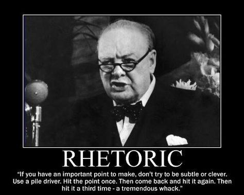 Motivational Posters: Winston Churchill Edition (Part I)