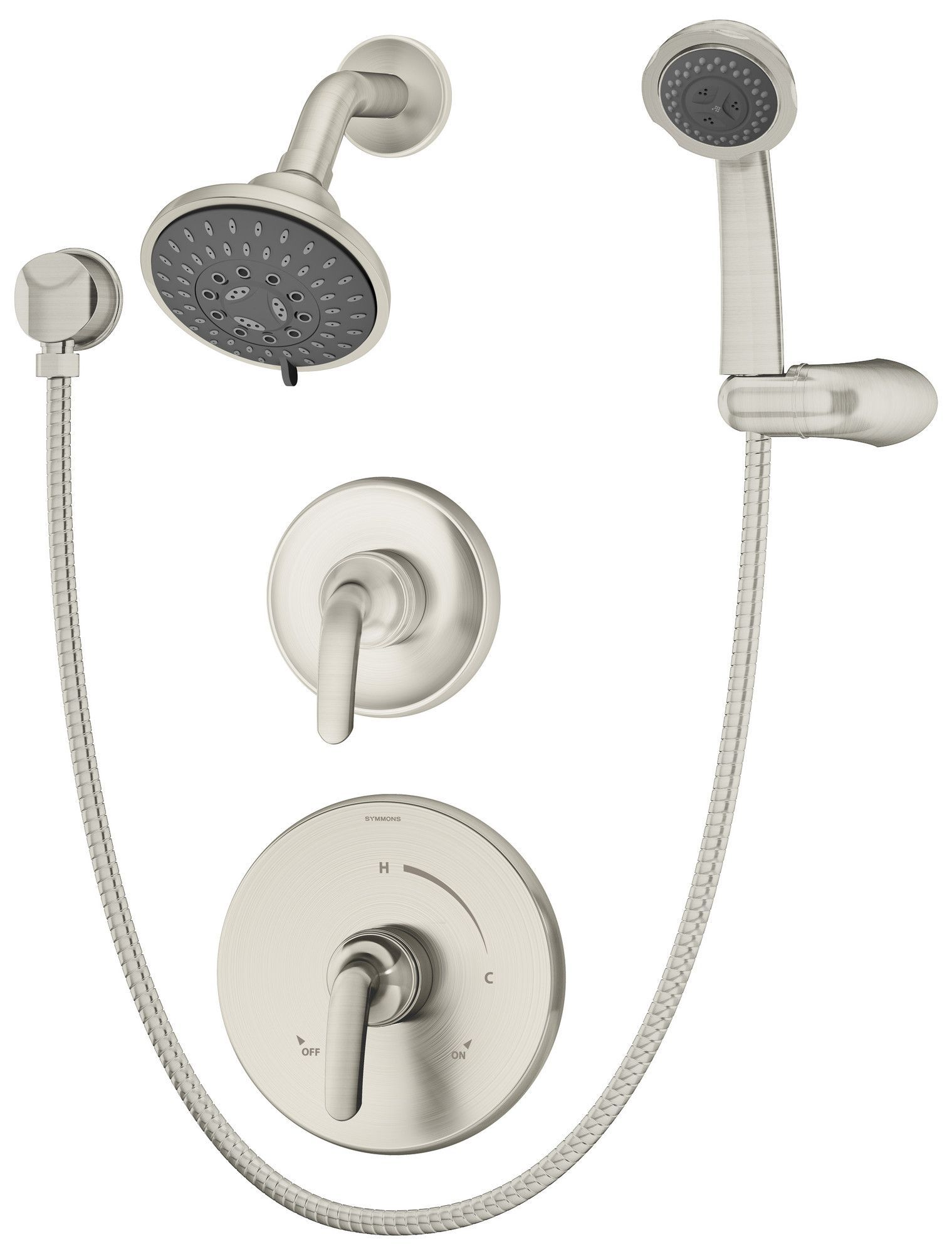 Elm Shower Faucet With Handheld Shower Head Shower Systems