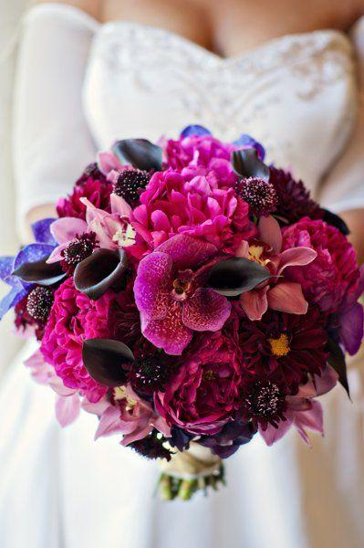 Purple Inspired Wedding Wedding Flowers Photos on WeddingWire