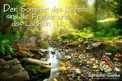 Der Sommer Des Lebens Sprüche Fototapete Tapeten