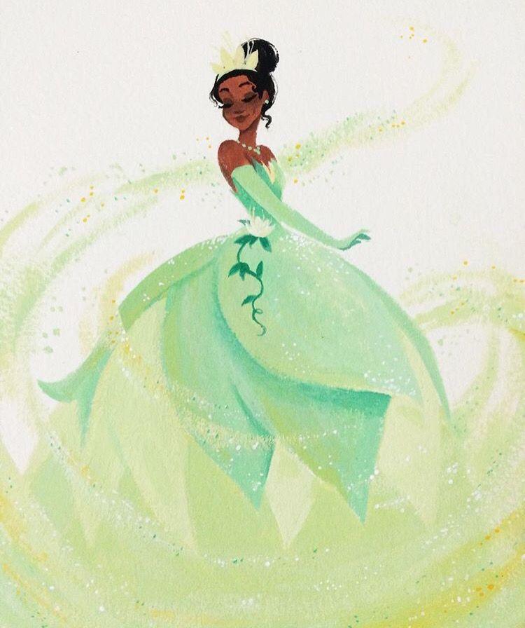 Princess Tiana Art
