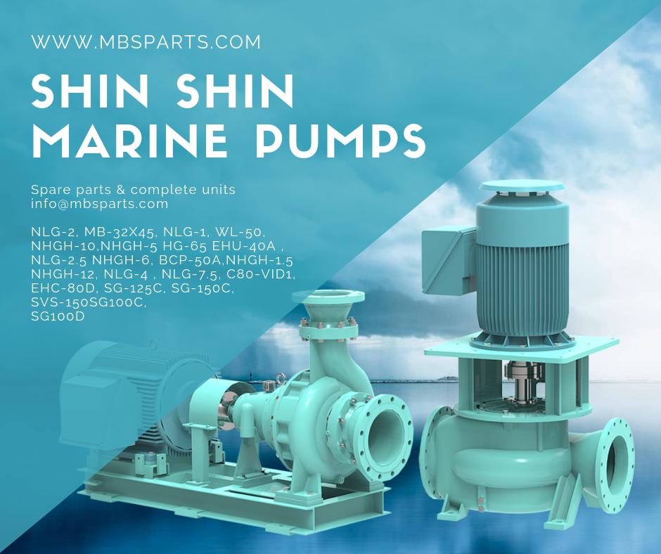 Shinshin Marinepumps Ship Nlg2 Mb32x45 Nlg1 Wl10 Nhgh10 Nhgh5 Hg65 Ehu40a Nlg2 Nhgh6 Bcp50a Marine Equipment Turbocharger Spare Parts