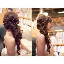 side ponytail wedding hairstyles - Google Search